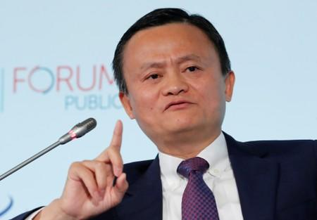 """FILE PHOTO - Alibaba Group co-founder and Executive Chairman Ma attends the World Trade Organization (WTO) Forum """"Trade 2030"""" in Geneva"""