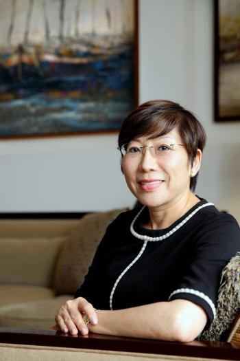 Kristine Lumley-Holmes, a Canadian citizen-turned-Singapore permanent resident