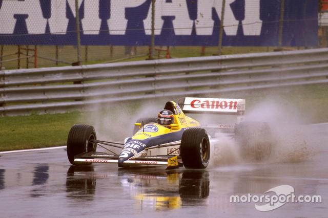 """Thierry Boutsen, Williams FW12C Renault <span class=""""copyright"""">Motorsport Images</span>"""