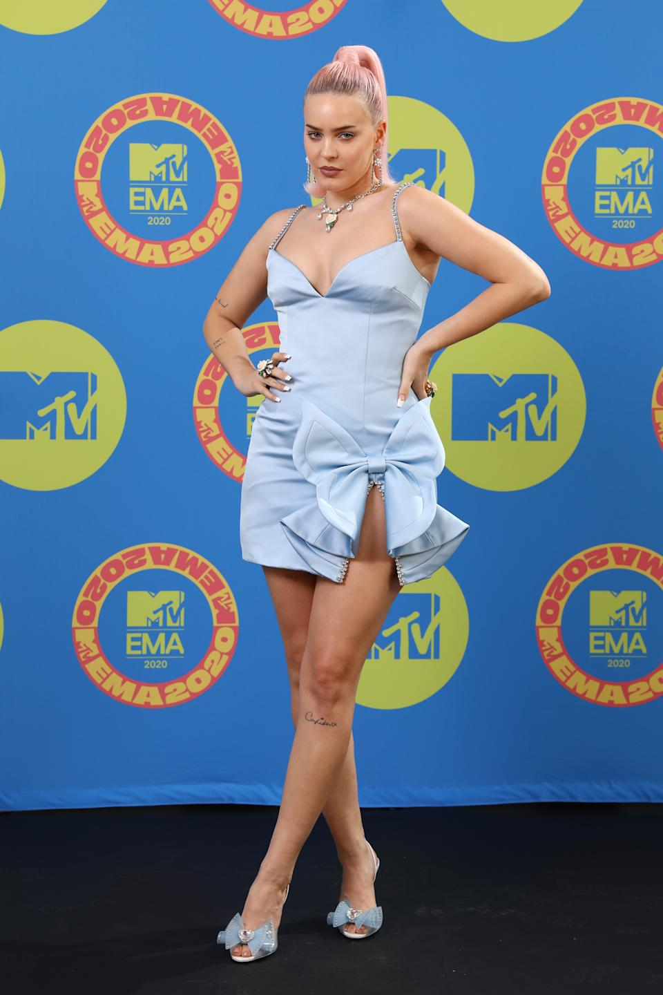 Anne Marie at the 2020 MTV EMAs