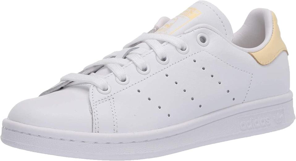 "<p><span>Adidas Originals Stan Smith Sneakers</span> ($80)</p> <p>""I have been wearing Stan Smiths forever but I love this new soft yellow back for spring. These sneakers are so comfortable, clean, and classic with any look."" - Dana Avidan Cohn, executive director, Style</p>"