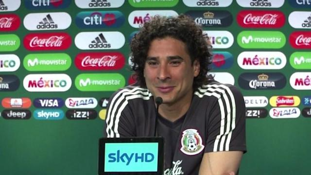 "Mexican goalkeeper Guillermo Ochoa says Mexico lifting the World Cup trophy as 2018 champions is something he ""feels, imagines and desires"". Currently top of Group F, the side hopes to remain ahead of defending champions Germany, qualifying for the last 16."