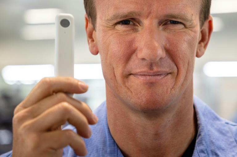 Sean Parsons' 'hobby' of inventing virus detection tools has led to him helming a mammoth effort to ship the first non-prescription home Covid-19 tests cleared by US regulators