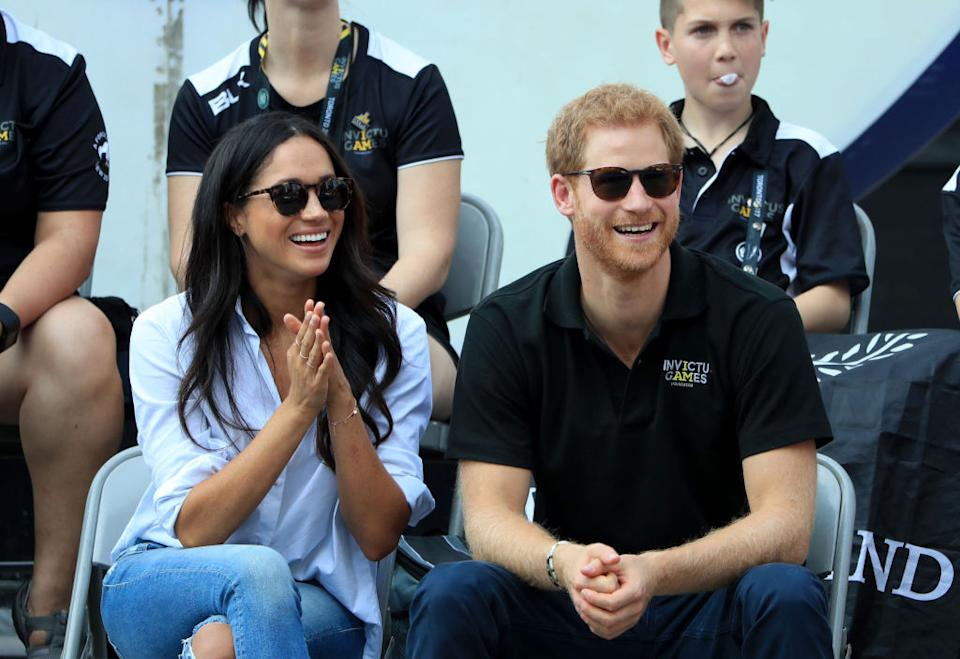 The Duke and Duchess of Sussex made their first public appearance together at the Invictus Games in Toronto in 2017 [Image: Getty]