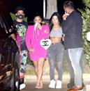 <p>Demi Lovato and her fiancé Max Ehrich celebrated their five-month anniversary with friends at Nobu Restaurant in Malibu.</p>