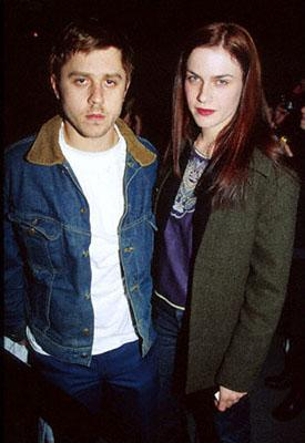 """Premiere: Sundance Film Festival, Janurary 28, 2000 : Giovanni Ribisi and his wife Mariah O'Brien at the """"Boiler Room"""" Premiere at the Eccles"""