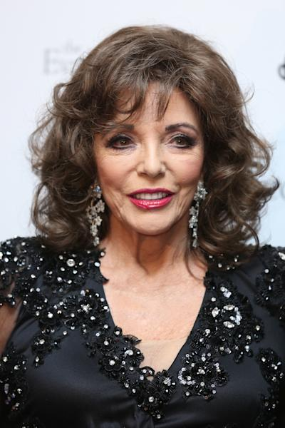 Dame Joan Collins has said she went through a 'potential transgender moment' when she became a 'tomboy' as a teenager (Isabel Infantes/PA)