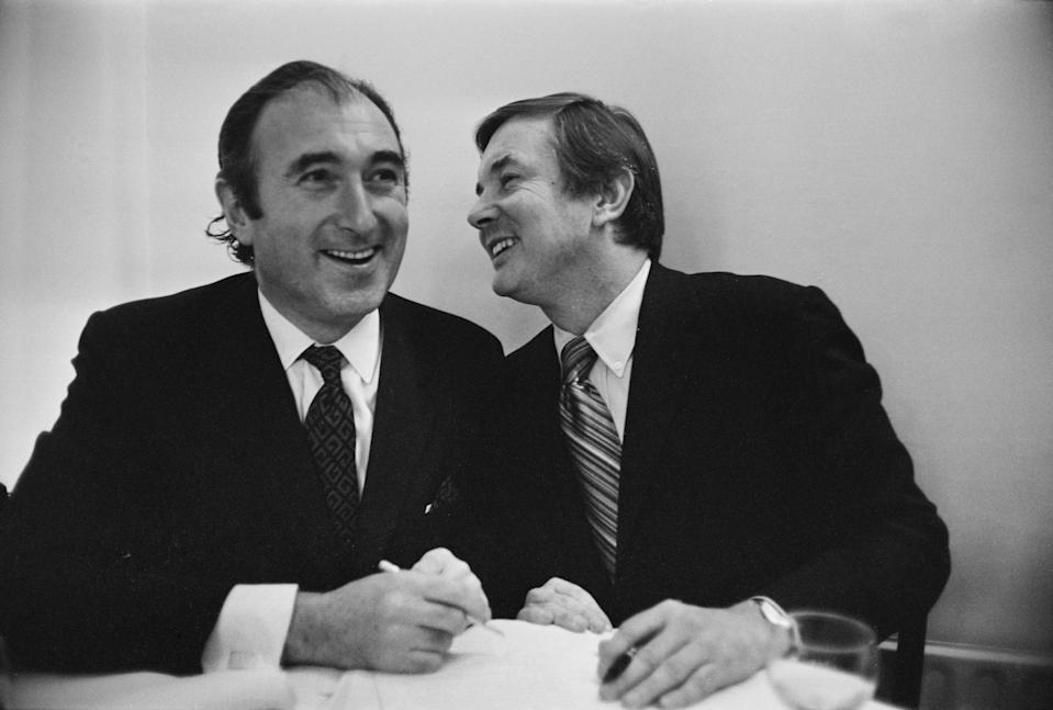 Hollywood super agent Jerry Perenchio (right) played a key role in setting up the fightGetty Images