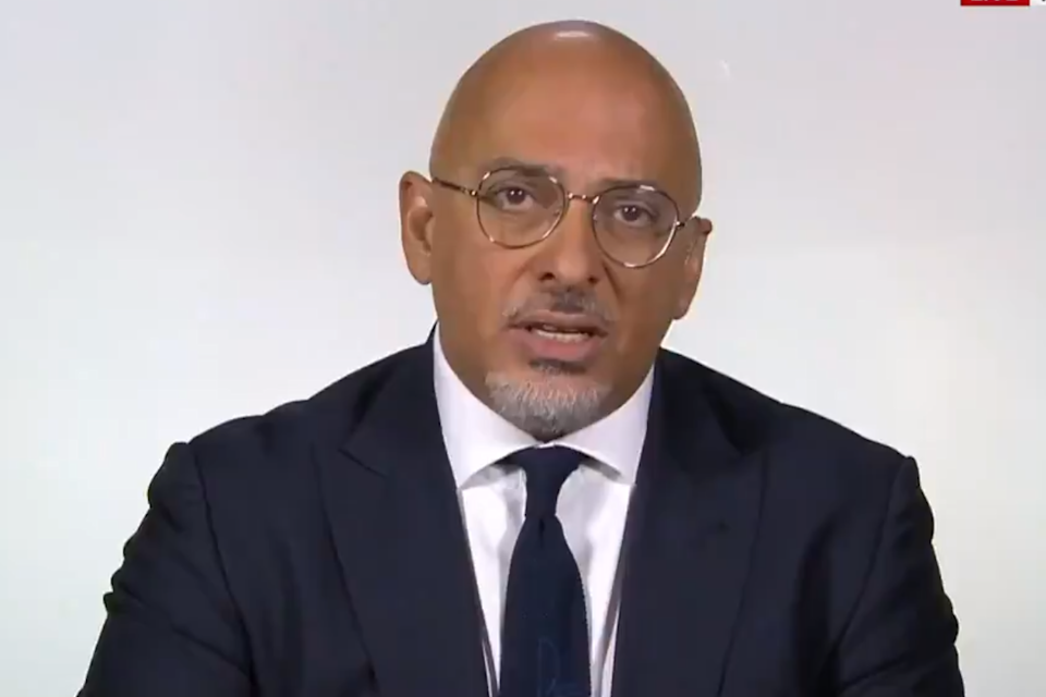 Business Minister Nadhim Zahawi (Sky News)