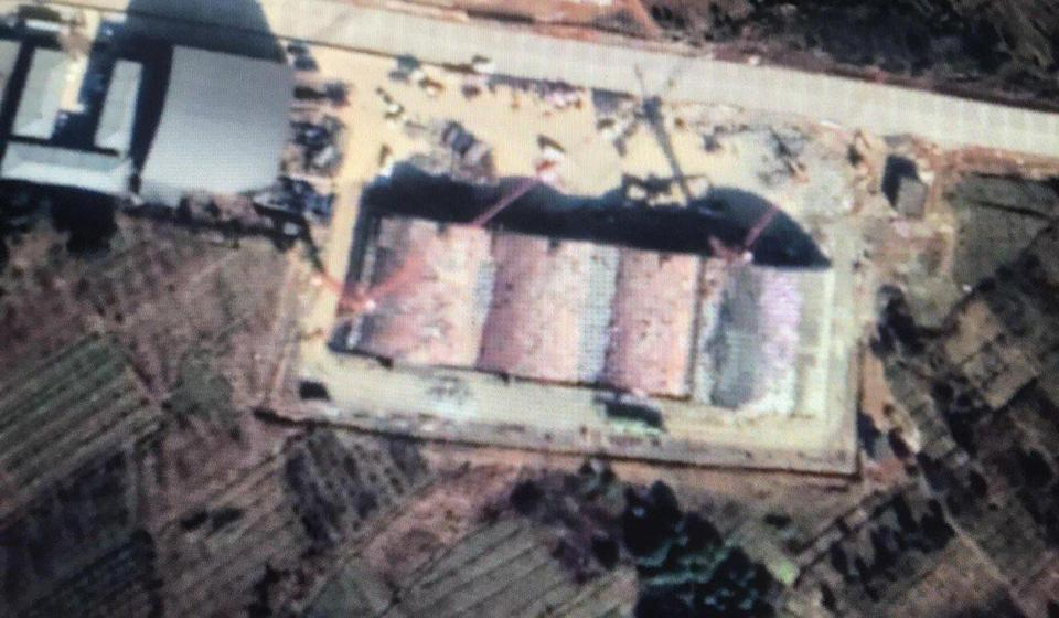 A satellite image from January shows new hangars and other infrastructure being built at an airbase in Changxing county, Zhejiang province. Photo: Kanwa Defence Review