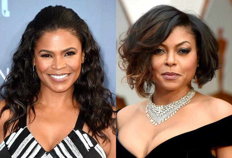 Nia Long and Taraji P Henson
