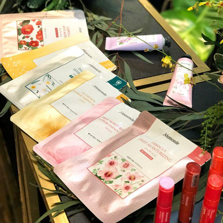 Mamonde is best known for the use of flowers in their products.