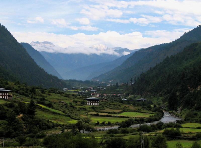 The gorgeous Haa district of Western Bhutan (Wiki Commons)