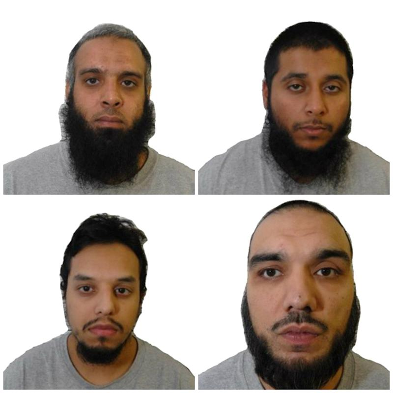 Three of the 'Three Musketeers' terror plotters had spent time in prison togetherWest Midlands Police