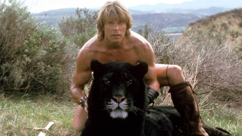 Marc Singer in 1982 fantasy film 'The Beastmaster'. (Credit: MGM)