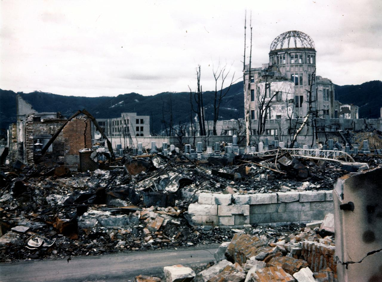 The bombing of hiroshima japan