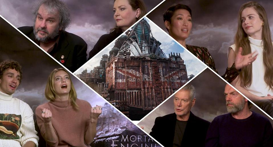 The stars of Mortal Engines share their most missed moments.