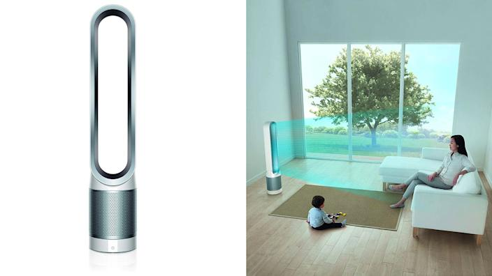 This two-in-one air purifier and fan from Dyson is on sale now.