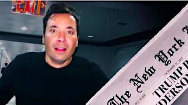 Jimmy Fallon Is Caught In The Scariest Halloween Horror Of All