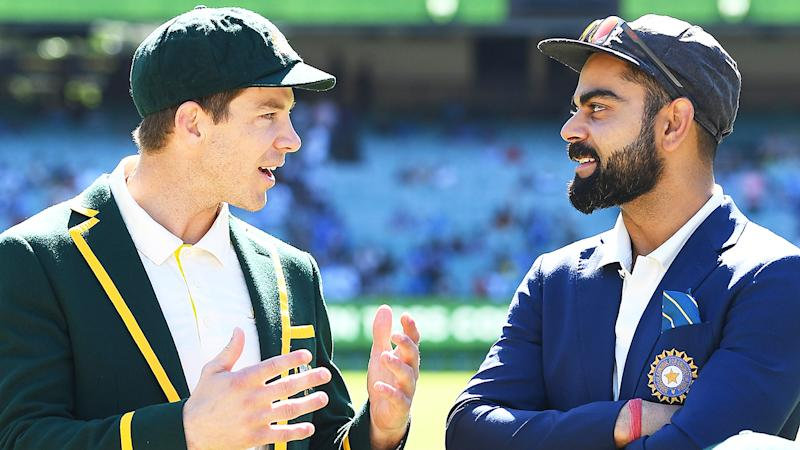 India and Australia will play a day-night Test next summer, following a cheeky jab at India's previous reluctance to play the new format. (Photo by Quinn Rooney/Getty Images)
