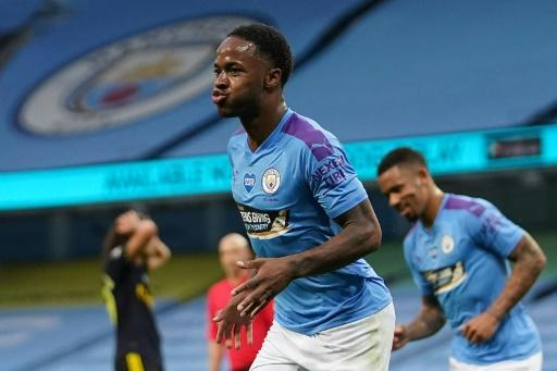 Raheem Sterling had not scored for Manchester City in 2020 before Arsenal came to town for the Premier League restart