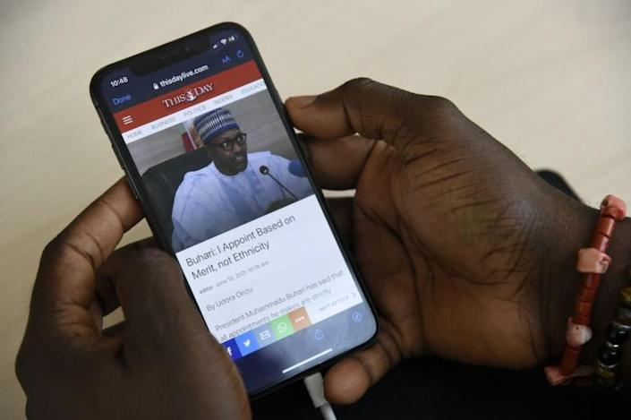 Tens of millions of young Nigerians connect to news and other sources through social media