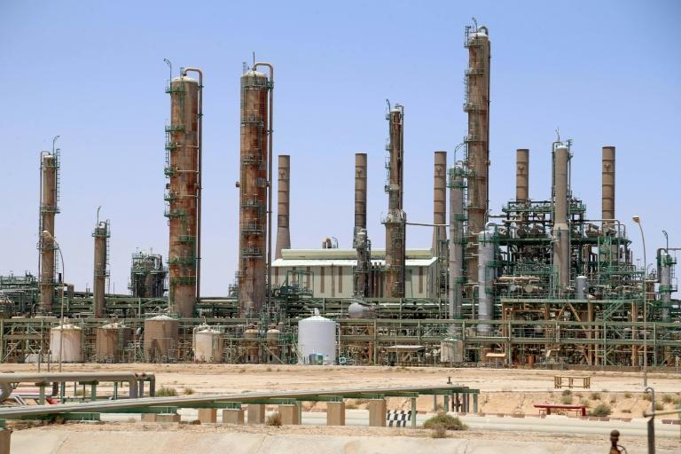Oil refinery in Libya's northern town of Ras Lanuf
