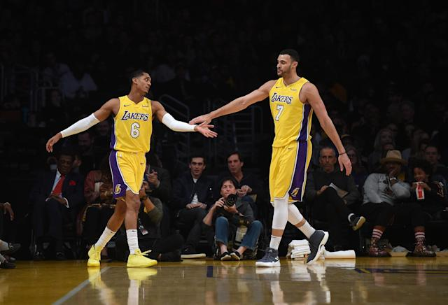 Jordan Clarkson and Larry Nance Jr. give the Cavaliers an infusion of youth and athleticism. (Getty)