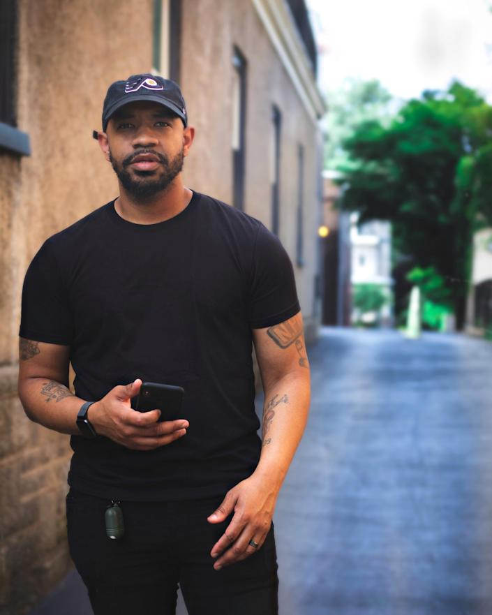 Pastor Carl Day of the Culture Changing Christians Church is pictured in Philadelphia, where he conducts violence-reduction programs.