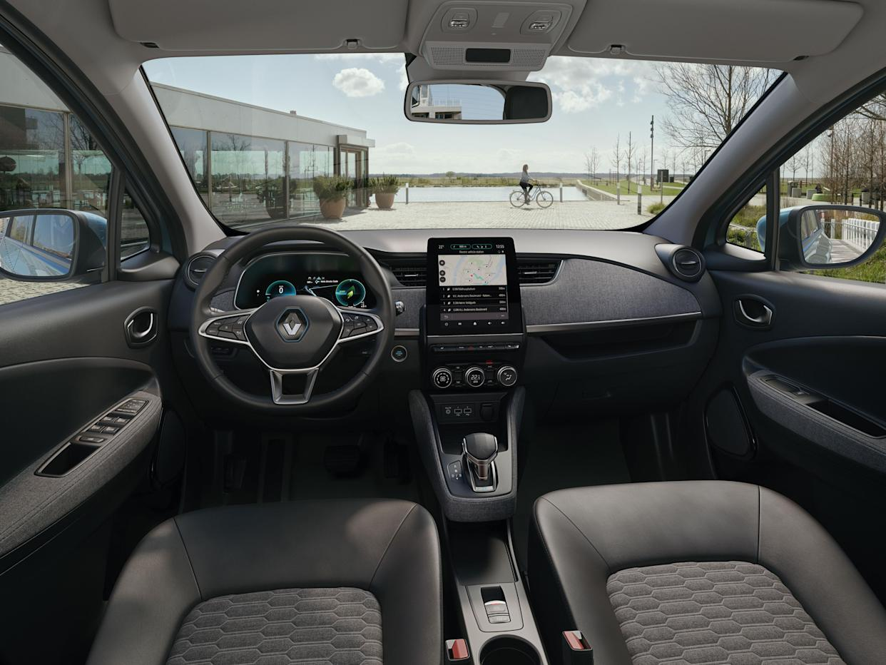 The Zoe's interior has been given a significant revamp
