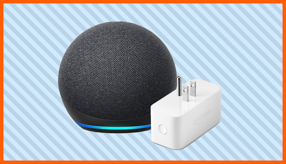 Save $ 35 on the all-new Echo Dot (4th generation) and Amazon Smart Plug package.  (Photo: Amazon)