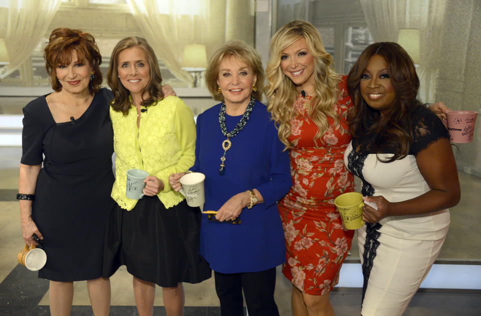 THE VIEW - 5/15/14 - For the first time in television history, all 11 co-hosts of Walt Disney Television via Getty Images's