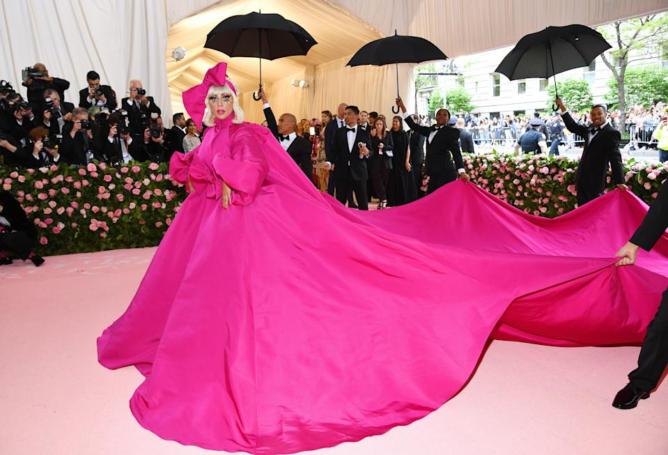 """<h1 class=""""title"""">Lady Gaga in Brandon Maxwell</h1><cite class=""""credit"""">Photo: Getty Images</cite>"""