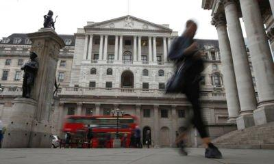 Bank sees reduced risk of disorderly Brexit as rates held