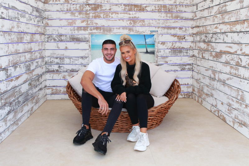 Tommy Fury & Molly Mae Hague Personal Appearance at The Love Island Experience at Bluewater Shopping Centre Kent UK, Tommy and Molly-Mae meet and greet fans (Photo credit should read Jamy / Barcroft Media via Getty Images)