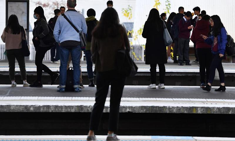 People have to leave the region in droves every day for work on overcrowded public transport.
