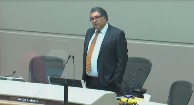 Mayor Naheed Nenshi is calling on the CBE and Calgary Catholic School District to change the names of Langevin School and Bishop Grandin School at their next board meetings.
