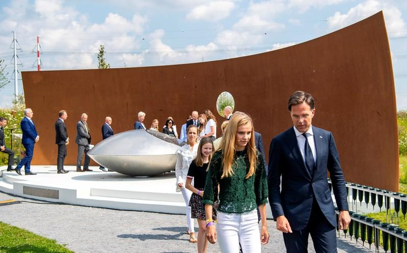 FILE PHOTO: Commemoration ceremony in memory of the victims of the Malaysia Airlines flight MH17 plane crash in Vijfhuizen