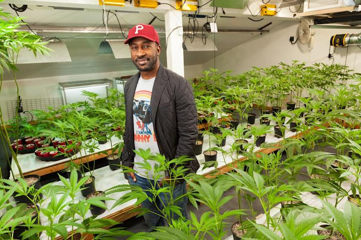 Jesce Horton is the owner of Panacea Valley Gardens, a cultivation center and boutique edibles line serving cannabis patients in Portland, Ore. (Photo: Robbie McClaran/Redux for Yahoo News)