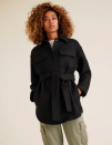 """<p><a class=""""link rapid-noclick-resp"""" href=""""https://go.redirectingat.com?id=127X1599956&url=https%3A%2F%2Fwww.marksandspencer.com%2Fbelted-utility-jacket-with-wool%2Fp%2Fclp60463124&sref=https%3A%2F%2Fwww.redonline.co.uk%2Ffashion%2Fshopping%2Fg34625942%2Fmarks-and-spencer-womenswear-sale%2F"""" rel=""""nofollow noopener"""" target=""""_blank"""" data-ylk=""""slk:SHOP HERE"""">SHOP HERE</a> <strong>Was £68, Now £48.30 </strong></p><p>Lend your look a contemporary edge with the utility styling of this jacket, made with wool for a premium look and feel.</p><p>It's set to be a trend piece year-in, year-out from now on. </p>"""