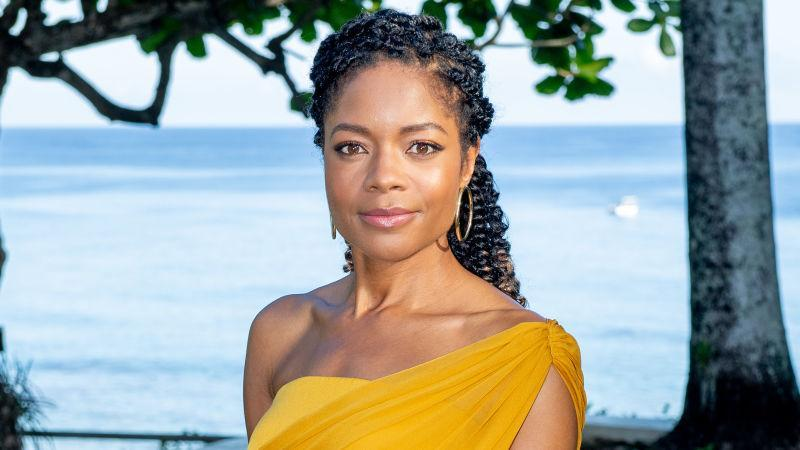 """Naomie Harris attends the """"Bond 25"""" Film Launch at Ian Fleming's Home """"GoldenEye"""", on April 25, 2019 in Montego Bay, Jamaica."""