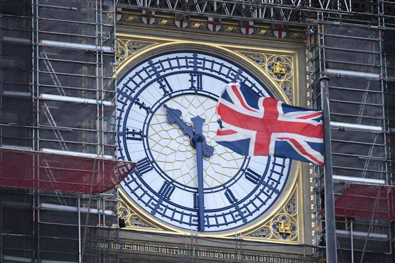 The Elizabeth Tower, which houses Big Ben, is undergoing refurbishment (AFP via Getty Images)