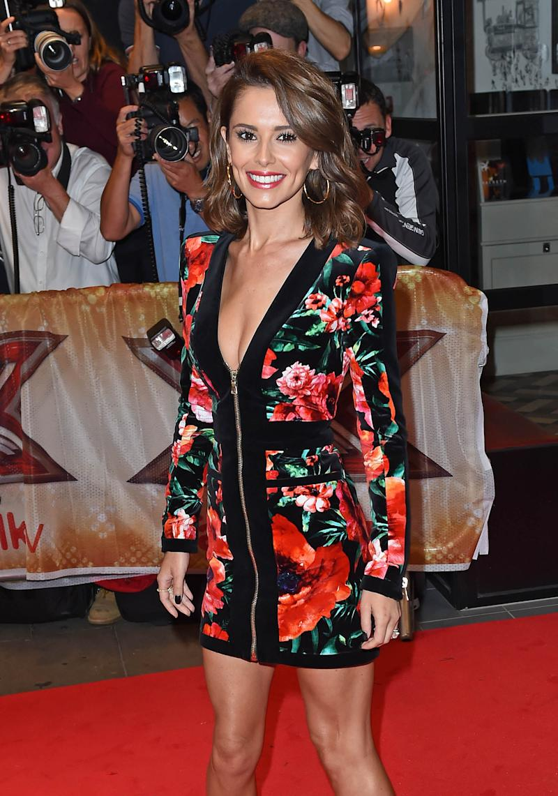 Photo by: KGC-143/STAR MAX/IPx 2015 8/26/15 Cheryl Ann Fernandez-Versini aka Cheryl Cole at the media launch for The X Factor. (London, England, UK)