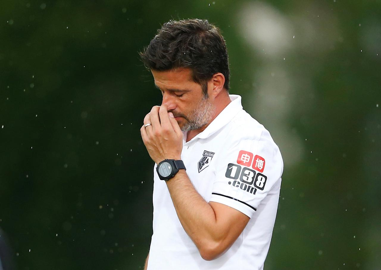 Soccer Football - Viktoria Plzen vs Watford - Pre Season Friendly - Worgl, Austria - July 18, 2017   Watford manager Marco Silva   REUTERS/Dominic Ebenbichler