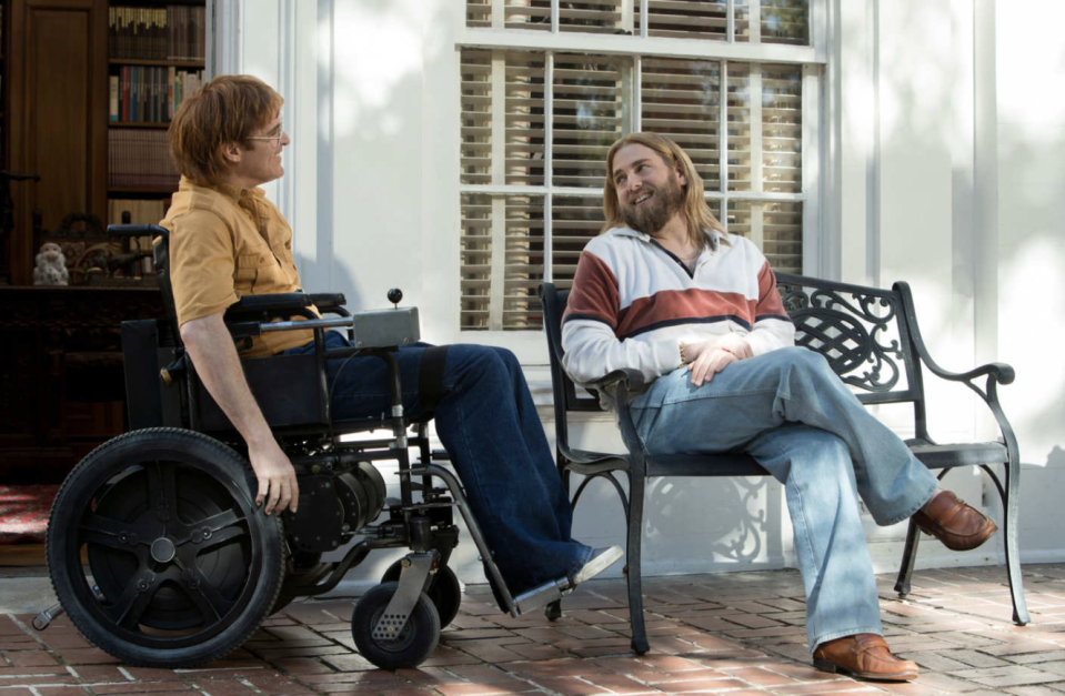 """<p>The Phoenix is landing. In between March's <em>You Were Never Really Here</em>, his first film released in two years, and the much-delayed <em>Mary Magdalene </em>(possibly out this fall?), Joaquin Phoenix stars as wheelchair-bound cartoonist John Callahan in this Gus Van Sant biographical dramedy that drew raves at Sundance. Jonah Hill and Rooney Mara co-star. 