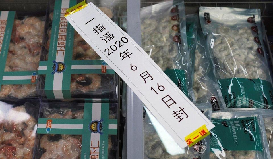 Some outbreaks in China have been linked to frozen foods. Photo: Reuters