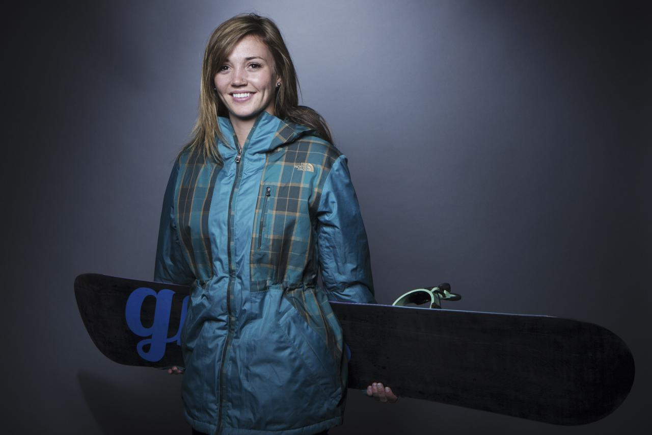 Olympic snowboarder Kaitlyn Farrington poses for a portrait during the 2013 U.S. Olympic Team Media Summit in Park City, Utah October 2, 2013. REUTERS/Lucas Jackson (UNITED STATES - Tags: SPORT OLYMPICS PORTRAIT SNOWBOARDING)