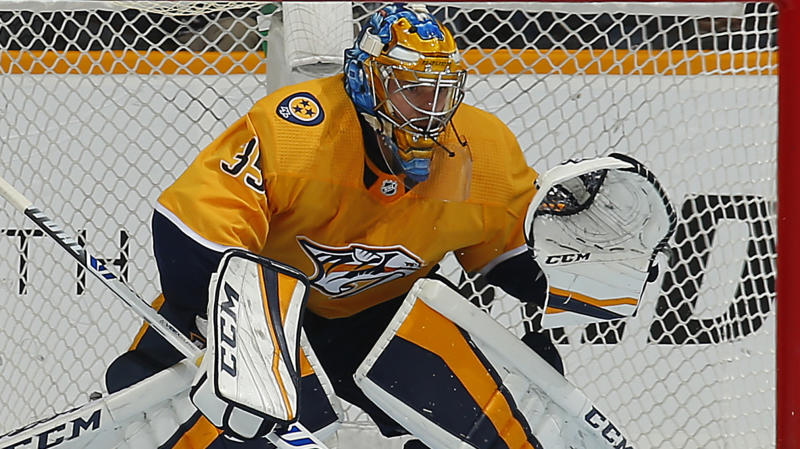 Rinne shuts out the Hurricanes