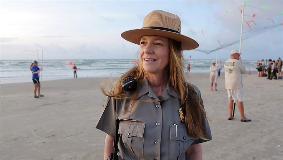 "National Park Service <span class=""copyright"">(Donna Shaver is the chief of Sea Turtle Science and Recovery for the National Park Service at Padre Island. )</span>"