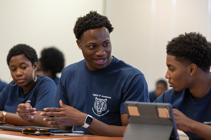 Later in July, educators from 10 HBCUs will take part in a virtual academy to learn the building blocks of coding with Swift, Apple's coding language.